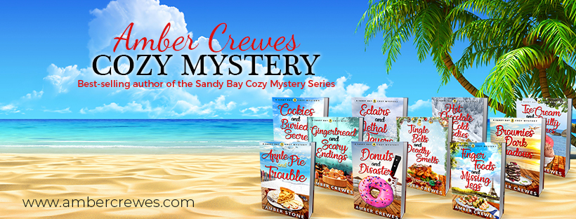 Amber Crewes - Cozy Murder Mystery Author